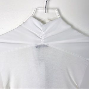 Boohoo Tops - BOOHOO NWT White Chiffon Bodysuit